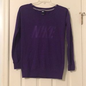Purple 💜 NIKE Sweatshirt